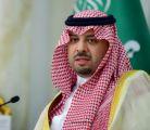 أمير الحدود الشمالية يرفع التهنئة للقيادة بمناسبة حلول شهر رمضان المبارك
