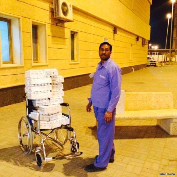 طريقة نقل الأدوية في مستشفى طريف العام