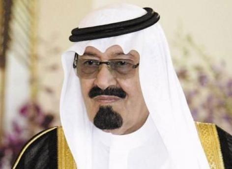 صورة الملك عبدالله وسط الاعماق منذ سنوات