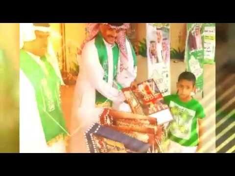 ابتدائية عبدالله بن عمر بعرعر تحتفل باليوم الوطني