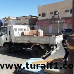 بلدية طريف تواصل جولاتها التفتيشية على المنشآت المتعلقة بالصحه العامة