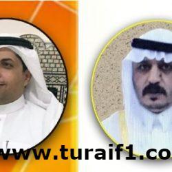 """رجل الأعمال طارق سليمان الحازمي يهنئ """"الرويلي"""" بمناسبة ترقيته للمرتبة العاشرة"""