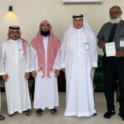 رجل الأعمال رائد بن صادق المحمد يهنئ  العقيد نايف الرويلي بمنصبه الجديد