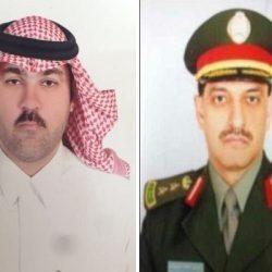 """رجل الأعمال رائد بن صادق المحمد يهنئ """"الرويلي"""" بتعيينه مساعداً لمدير جوازات منطقة الحدود الشمالية"""