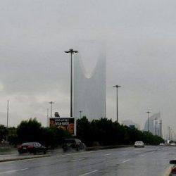 هطول أمطار متوسطة صباح اليوم على طريف