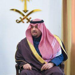 سمو الأمير فيصل بن خالد بن سلطان يستقبل المواطنين بمحافظة طريف