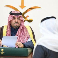 سمو أمير منطقة الحدود الشمالية يستقبل رئيس المحكمة العامة بطريف وعدداً من القضاة