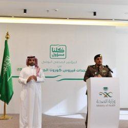 سمو الأمير فيصل بن خالد بن سلطان يطلع عبر الاتصال المرئي على ملخص أمني لحالة منع التجول في الحدود الشمالية
