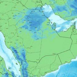 """""""الأرصاد"""": هطول أمطار رعدية مصحوبة برياح نشطة على المناطق"""