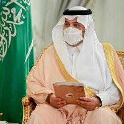 سمو الأمير فيصل بن خالد بن سلطان يستقبل مدير فرع وزارة البيئة بالمنطقة