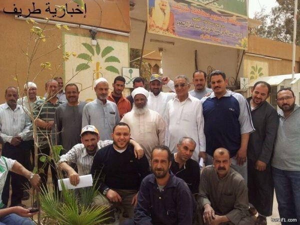 قناة الثقافية السعودية تلتقي مع ابن طريف فواز الدخيل