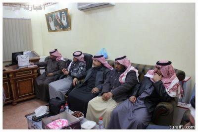 منتصف المربعانية في محافظة طريف وانخفاض حاد في درجات الحرارة