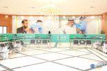 بالصور .. مركز لقاح كوفيد 19 الرئيسي في عرعر يستعد لإستقبال المسجلين بتطبيق صحتي للحصول على اللقاح