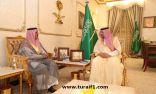 الأمير فيصل بن خالد يستقبل مدير جامعة الحدود الشمالية