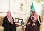 سمو الأمير فيصل بن خالد يستقبل مدير فرع الهيئة العامة للإحصاء بالمنطقة