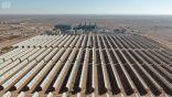 """محطة كهرباء """"وعد الشمال"""" .. منظومة محطات توليد تعمل بالغاز الصخري وتدمج الطاقة الشمسية"""
