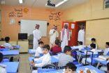 وكيل إمارة الحدود الشمالية يتفقد عدداً من مدارس عرعر