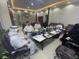 """جمعية """" سر الفن البصري """" تعقد إجتماعها الأول بمقرها الرسمي بالقريات بحضور الدكتور المدوح"""