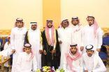 بالصور..تركي بن خالد العنزي يحتفل بزواجه
