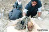 الكشف عن مقبرة جماعية شرق المملكة بسبب تصنيع الخمور ( صورة )