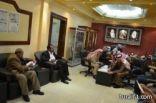 بالصور فتح مظاريف لعدد من المشاريع في بلدية محافظة طريف