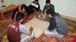 لعبة الشيش تنتشر في إستراحات طريف والمشايخ يحرمونها