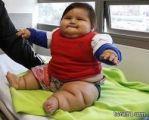 بالصور: أضخم رضيع في كولومبيا وزنه 20 كيلوجراماً