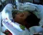 بالفيديو.. ولد في حادث سير ونجا