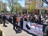 الفلسطينيون يحيون الذكرى الـ38 ليوم الأرض