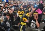 أكثر من 100 ألف تايواني يحتجون على اتفاق تجاري مع الصين