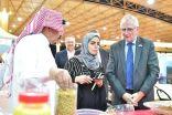 سفير الدنمارك لدى المملكة يزور مهرجان السمح الموسمي بالجوف