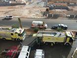 إخلاء 23 شخصاً اثر نشوب حريق في عمارة سكنية بعرعر
