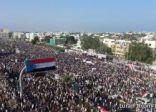 تظاهرعشرات الآلاف في عدن للمطالبة بالانفصال