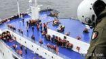 العبارة الإيطالية: مقتل شخص واحد على الأقل وعملية إنقاذ الركاب لاتزال متواصلة