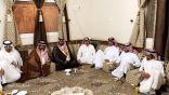 الشيخ ملاح الأديهم والشيخ بشير الحازمي ورجل الأعمال مصبح الجلاد في ضيافة الإعلامي سلطان الهوير