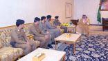 الأمير فيصل بن خالد يستقبل مدير الشرطة الحدود الشمالية وعدد من القيادات الأمنية