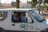 استنفار في بلدية طريف لإزالة السيارات والهياكل من شوارع طريف وتجمهر اصحابها (صور )