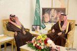أمير الشمالية يلتقي رئيس وأعضاء المجلس البلدي الجديد بالعويقيلة