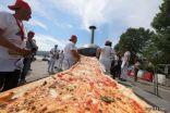 أطول بيتزا في العالم بطول 1,8 كيلومتر بإيطاليا