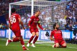 ليفربول بطلًا لأوروبا للمرة السادسة.. وصلاح يسجِّل هدفه الأول بالنهائيات