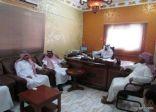 المجلس البلدي لبلدية محافظة طريف يزور إدارة الخدمات ببلدية طريف