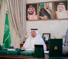 سمو الأمير فيصل بن خالد بن سلطان يلتقي شباب المنطقة بمناسبة اليوم العالمي لمهارات الشباب