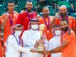 مضر يتوج بلقب النسخة الأولى لكأس السوبر السعودي لكرة اليد