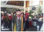 الماجستير لمحمد عبدالله الرويلي من جامعة نورثمبريا في بريطانيا