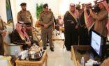 أمير الشمالية ومدير الأمن العام يدشنان مبنى شرطة طريف عبر الدائرة الإلكترونية