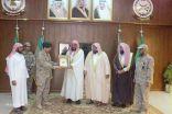 بالصور..مدير المساجد والدعوة بطريف يزور جنودنا البواسل بالحد الجنوبي
