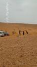 بالفيديو والصور…انقاذ عائلة علقت قريبا من سد شعيب طريف الجمعة