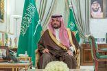 سمو الأمير فيصل بن خالد بن سلطان يرأس عن بُعد اجتماع البصمة البيئية