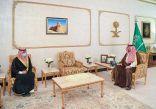 سمو الأمير فيصل بن خالد بن سلطان يستقبل مدير عام فرع الهلال الأحمر السعودي بالمنطقة بمناسبة تكليفه