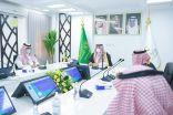 سمو الأمير فيصل بن خالد بن سلطان يتفقد مركز القيادة والتحكم بصحة الحدود الشمالية .